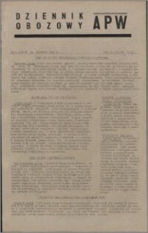 Dziennik Obozowy APW 1945.09.14, R. 2 nr 195