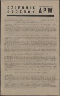 Dziennik Obozowy APW 1945.09.18, R. 2 nr 197