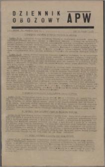 Dziennik Obozowy APW 1945.09.21, R. 2 nr 200