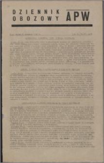 Dziennik Obozowy APW 1945.09.28, R. 2 nr 206