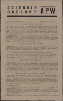 Dziennik Obozowy APW 1945.09.29, R. 2 nr 207