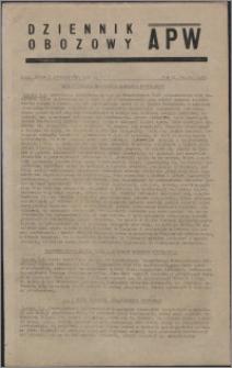 Dziennik Obozowy APW 1945.10.03, R. 2 nr 210