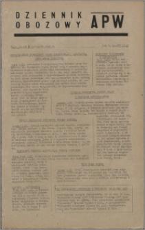 Dziennik Obozowy APW 1945.11.02, R. 2 nr 235