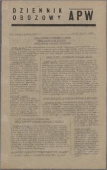Dziennik Obozowy APW 1945.12.01, R. 2 nr 260