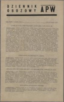 Dziennik Obozowy APW 1945.12.05, R. 2 nr 263
