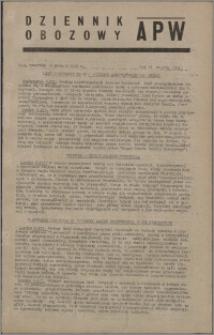 Dziennik Obozowy APW 1945.12.06, R. 2 nr 264