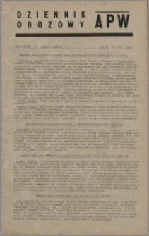 Dziennik Obozowy APW 1945.12.12, R. 2 nr 269