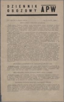 Dziennik Obozowy APW 1945.12.13, R. 2 nr 270