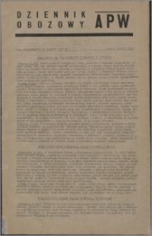 Dziennik Obozowy APW 1945.12.17, R. 2 nr 273