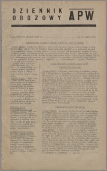 Dziennik Obozowy APW 1945.12.29, R. 2 nr 281