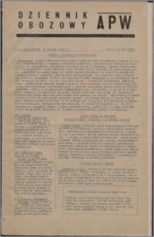 Dziennik Obozowy APW 1945.12.31, R. 2 nr 282