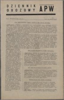 Dziennik Obozowy APW 1946.02.12, R. 3 nr 34