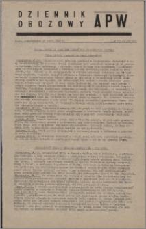 Dziennik Obozowy APW 1946.03.18, R. 3 nr 62