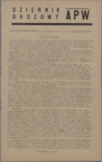 Dziennik Obozowy APW 1946.03.23, R. 3 nr 67