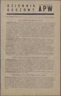 Dziennik Obozowy APW 1946.03.26, R. 3 nr 69