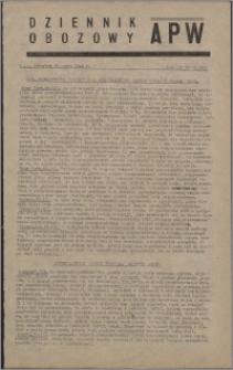 Dziennik Obozowy APW 1946.03.28, R. 3 nr 71