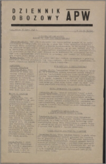 Dziennik Obozowy APW 1946.03.30, R. 3 nr 73