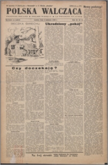Polska Walcząca 1949.04.09, R. 11 nr 14