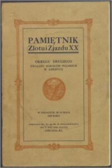 Zlot i Zjazd XX. Okręgu IIgo Związku Sokołów Polskich w Ameryce w dniach 29go, 30go i 31go maja 1925 roku w Chicago, Illinois