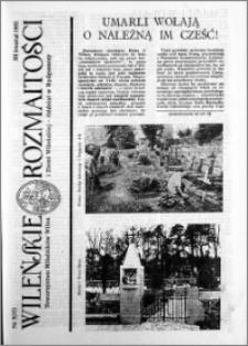 Wileńskie Rozmaitości 1992 nr 3 (11)