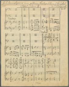 Jubiläumshymne zum goldenen Priesterjubiläum Sr. Heligkeit Papst Pius X : [na chór mieszany, solo tenor i orkiestrę symfonniczną] : op. 111