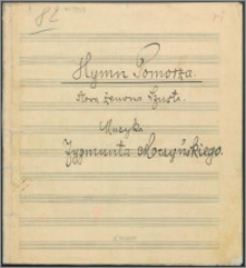 Hymn Pomorza : [na chór mieszany z fortepianem]
