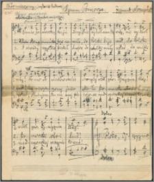 Hymn Pomorza : chór mieszany