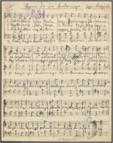 Hymn do św. Antoniego : [chór mieszany]