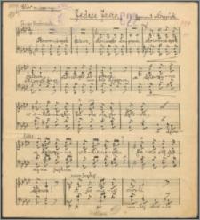 Jedzie Jasio : chór mieszany