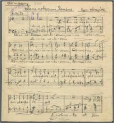 Mane nobiscum, Domine : chór mieszany