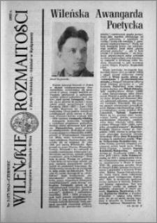 Wileńskie Rozmaitości 1993 nr 3 (17) maj-czerwiec