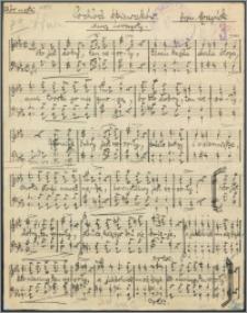 Pochód śpiewaków : marsz uroczysty : chór męski