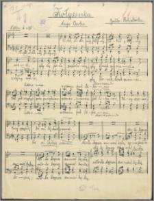Kołysanka : chór męski