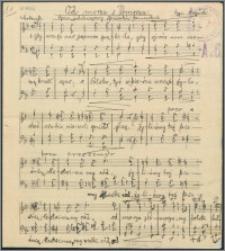 Od morza z Pomorza : hymn jubileuszowy śpiewaków pomorskich : [chór męski]
