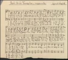 Pieśń do św. Wawrzyńca, męczennika