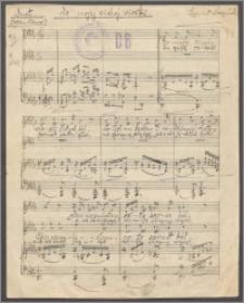 Do mojej cichej wioski : duet sopran-tenor