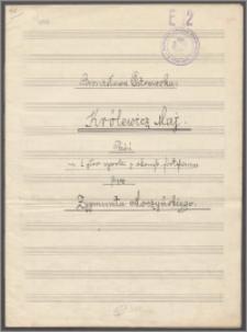 Królewicz maj : pieśń na 1 głos wysoki z akomp. fortepianu