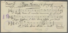 Reges Tharsis : op. 102 : [chór męski]