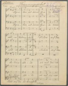 Trauungsgebet : [na chór męski] : op. 98
