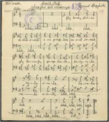 Muzyka żab wieczornych : chór męski