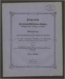 Programm der Friedrich=Wilhelms=Schule, Realschule erster Ordnung zu Stettin