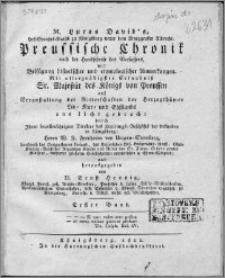 Preussische Chronik. Bd. 1