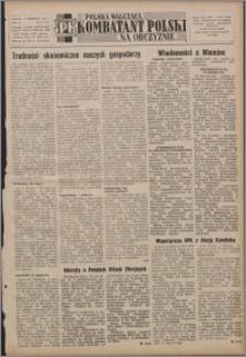 Polska Walcząca - Kombatant Polski na Obczyźnie 1952.04.06, R. 4 nr 14 (127)