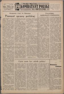 Polska Walcząca - Kombatant Polski na Obczyźnie 1953.09.20, R. 5 nr 29 (186)