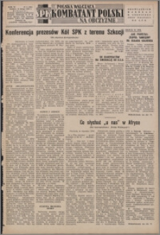 Polska Walcząca - Kombatant Polski na Obczyźnie 1954.02.14, R. 6 nr 4 (205)