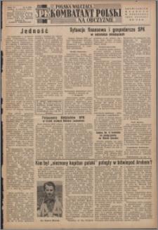 Polska Walcząca - Kombatant Polski na Obczyźnie 1954.04.11, R. 6 nr 8 (208)