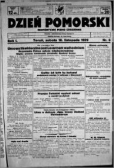 Dzień Pomorski, 1929.11.16, R. 1 nr 6
