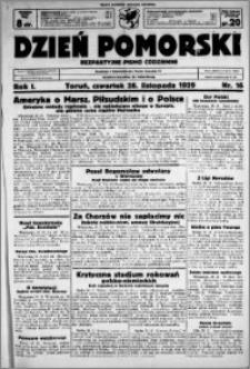 Dzień Pomorski, 1929.11.28, R. 1 nr 16
