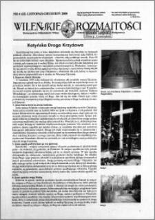Wileńskie Rozmaitości 2000 nr 6 (62) listopad-grudzień