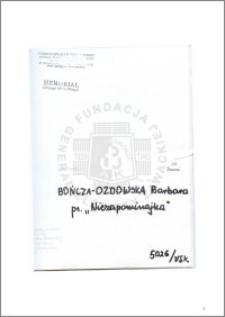 Bończa Ozdowska Barbara